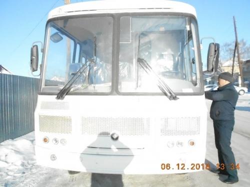 Новый ПАЗ для жителей. Для Уйского района приобрели новый автобус