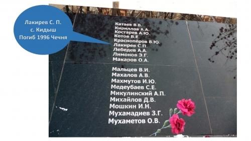 Будем всегда помнить! В Челябинске увековечили память девяти уйчан