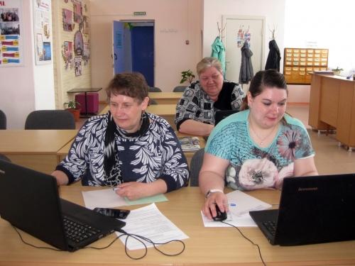 Изучают программы. В Уйской центральной библиотеке прошло обучение библиотекарей