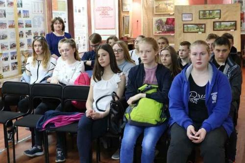 Час памяти. Школьникам рассказали о тяжёлых военных временах