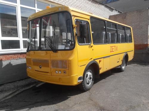 В рамках программы. Мирненская школа получила новый автобус