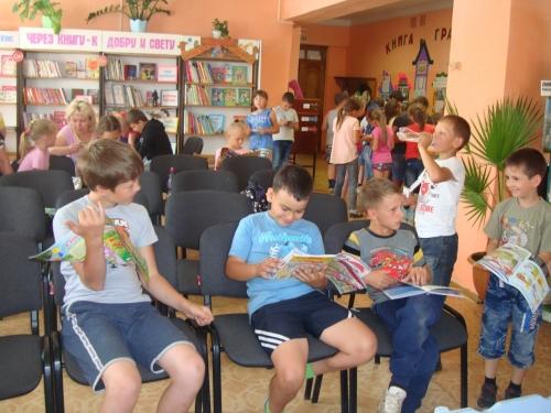 Соседи по планете. Юные читатели вновь посетили библиотеку