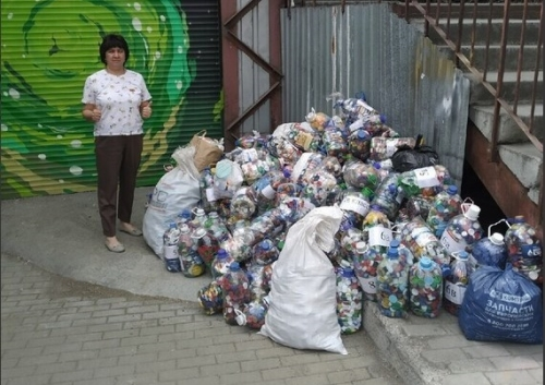 За экологию и против болезни. Уйская школа приняла участие в областной акции «Крышки добра»